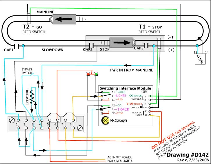 American Flyer Trains Wiring Diagrams http://track2.com/ingram/plans/s142/142a.intro.shtml