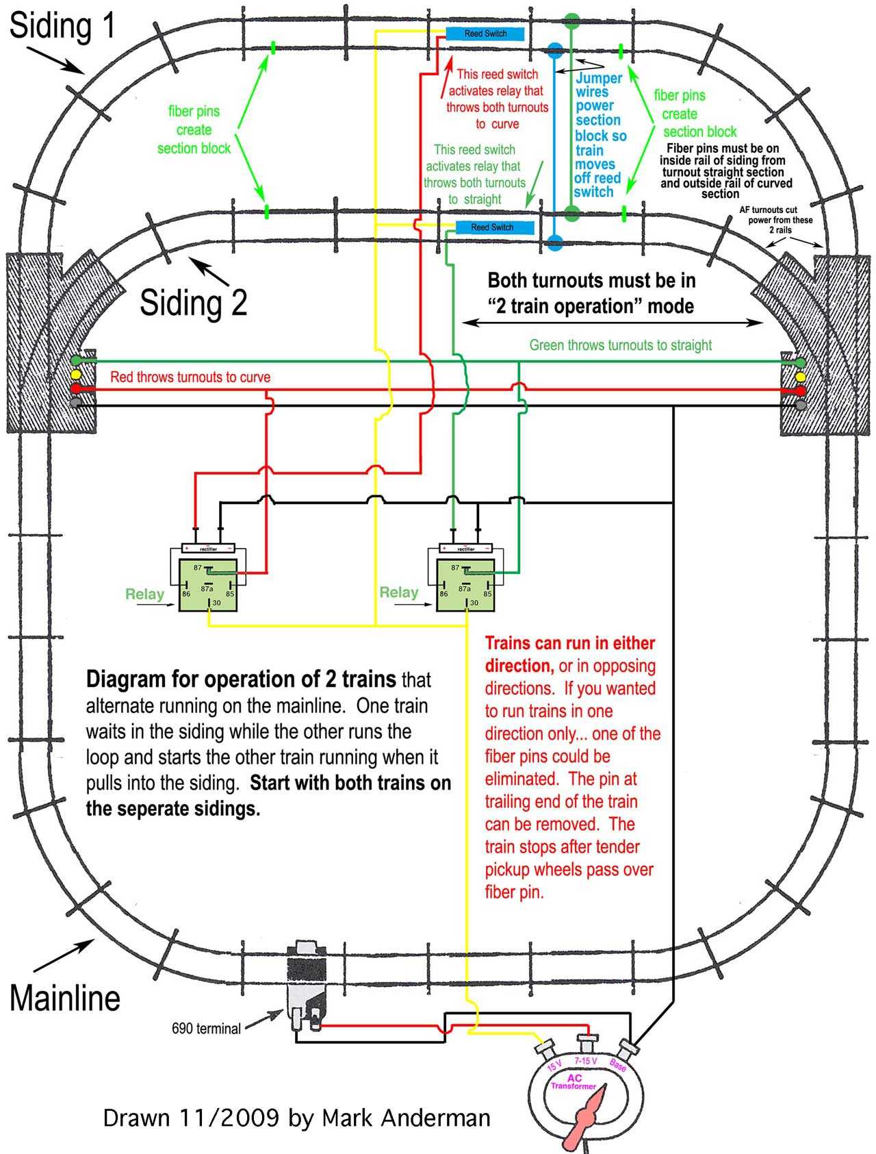 wiring a model rr siding diagram model a engine wiring